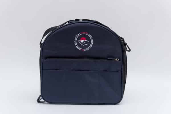 Boccia blue shoulder bag