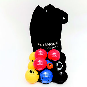 Petanque Superior, indoor, 12 balls