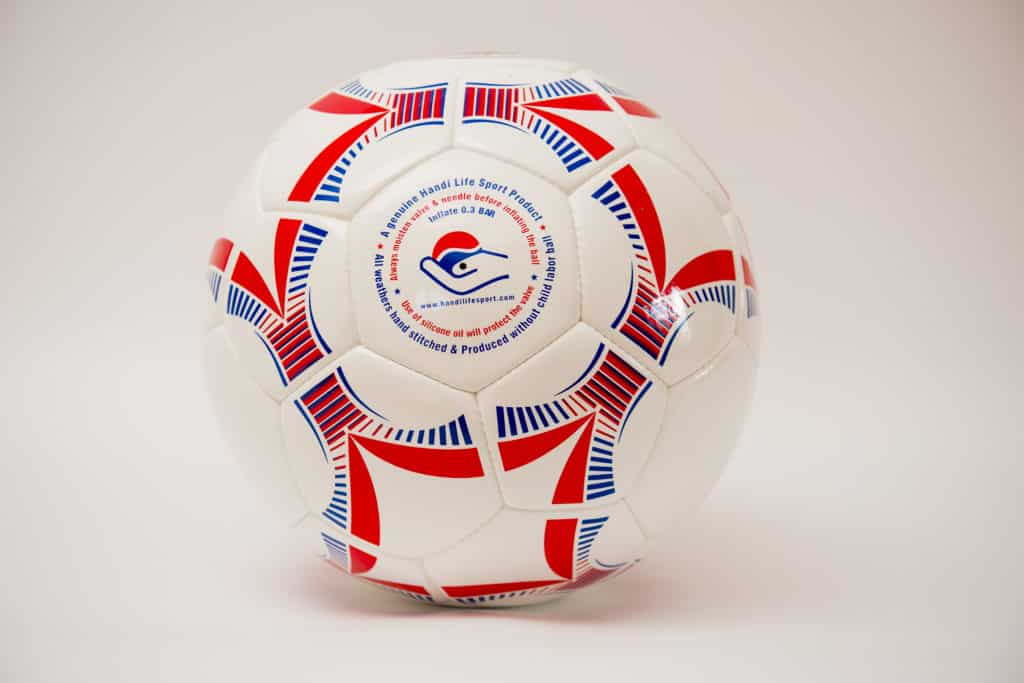 oversize football ball
