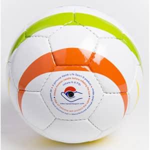 Balón de fútbol arcoíris para ciegos