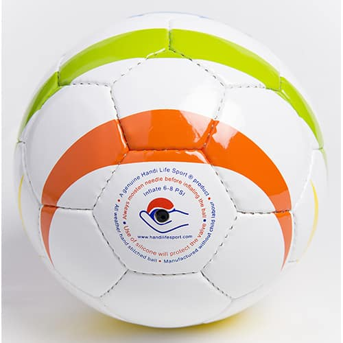 Rainbow Football ball