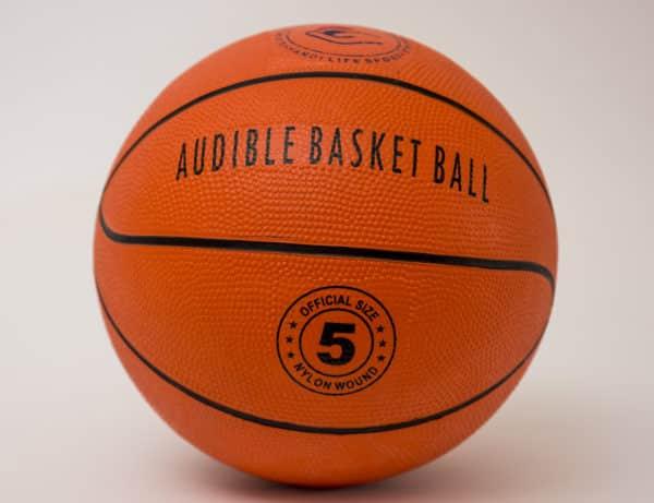 blind basketball ball