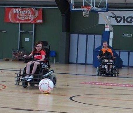 football wheelchair