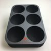 Boccia foam tray for 6 balls