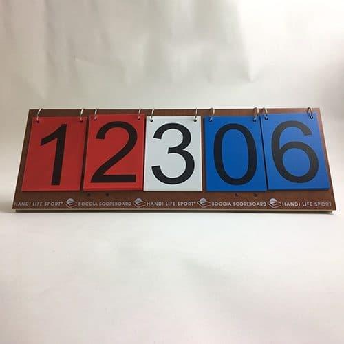 Boccia scoreboard