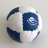 Single small Petanque blue/white target ball
