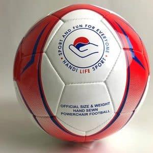 power wheelchair football ball