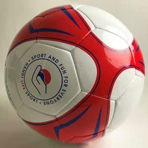Oversize football ball for Wheelchair Soccer