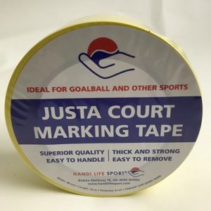 Justa Goalball tape – a box with 36 rolls