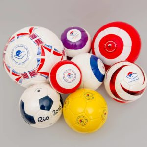Multi purpose sound ball Pack , soccer size (10 ball)