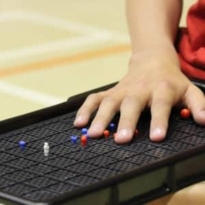 Boccia Touch board for blind Boccia