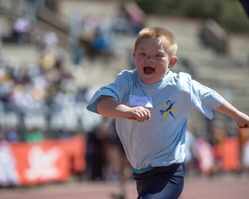 Down syndrome won't make you stop doing sports