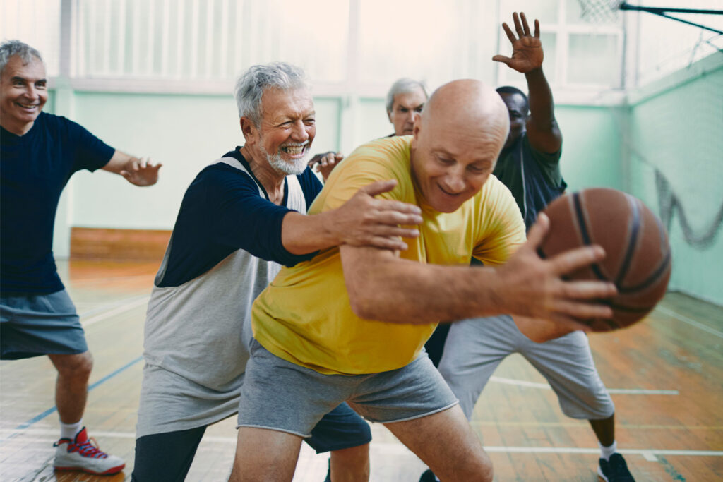 elderly sport regularity