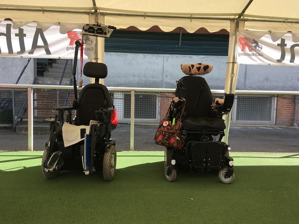 powered wheelchair 2 1