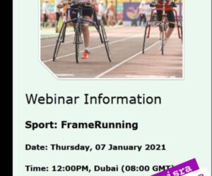 Webinar on Introduction to Frame Running