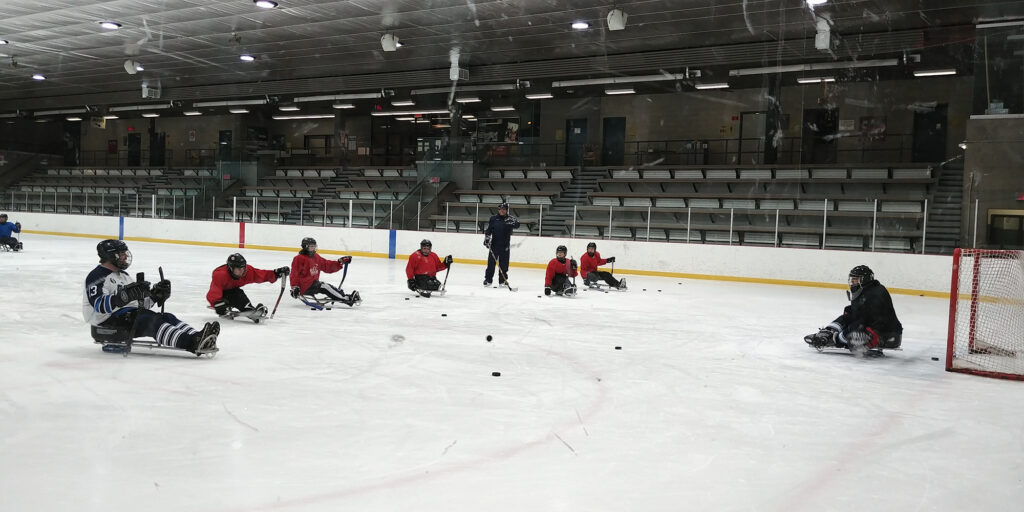 para hockey team