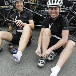 How to ride tandem bikes?